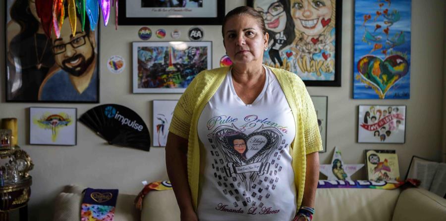 Mayra Alvera, madre de una de las víctimas de la masacre de Pulse. (horizontal-x3)