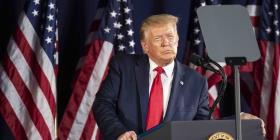 """Trump propone """"Jardín Nacional de Héroes Estadounidenses"""" en pleno debate de monumentos"""