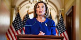 Nancy Pelosi se expresa a favor de un paquete de sanciones a Turquía