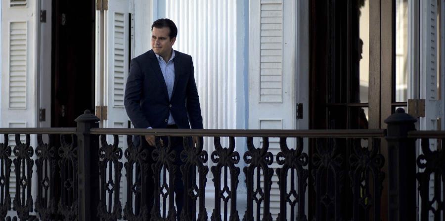 El gobernador de Puerto Rico, Ricardo Rosselló (horizontal-x3)