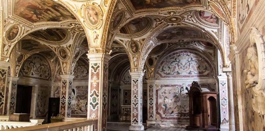 La Catedral de Amalfi ha sido remodelada varias veces y tiene elementos románicos, bizantinos, góticos y barrocos. (Suministrada)