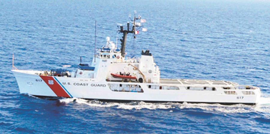 El Coast Guard rescató a los tripulantes del barco accidentado (horizontal-x3)