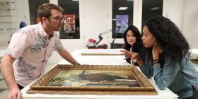 El Museo de Arte de Puerto Rico estudia colores y técnicas de 11 pinturas de la colección patrimonial