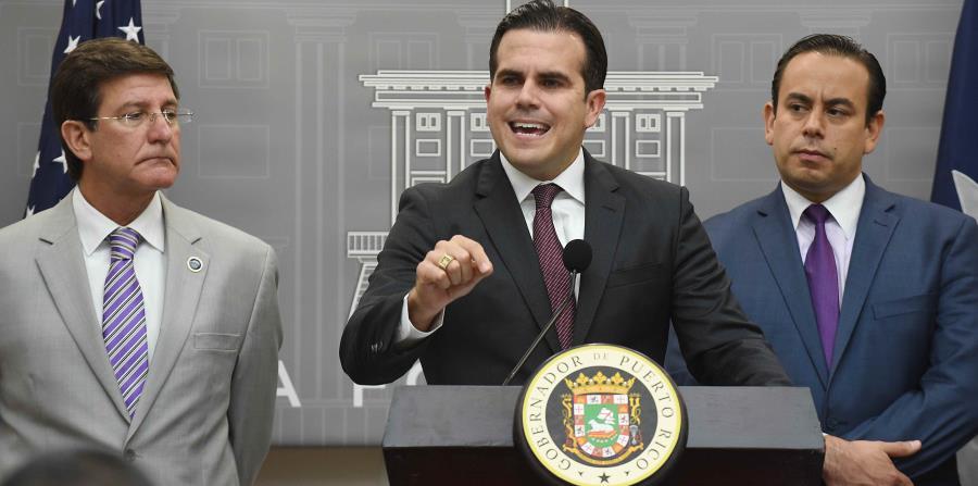 La administración de Ricardo Rosselló Nevares no llegó a un acuerdo con sus principales bonistas ni invocó las protecciones del título III ante la Junta de Supervisión Fiscal. (horizontal-x3)