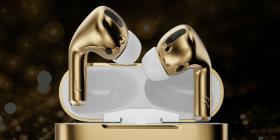 Lanzan unos headphones para iPhone cubiertos de oro cuyo valor es de $67,000