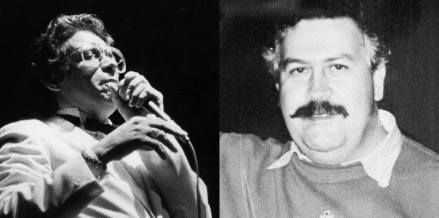 Héctor Lavoe cantó para una fiesta del notorio capo colombiano Pablo Escobar en 1981. (horizontal-x3)