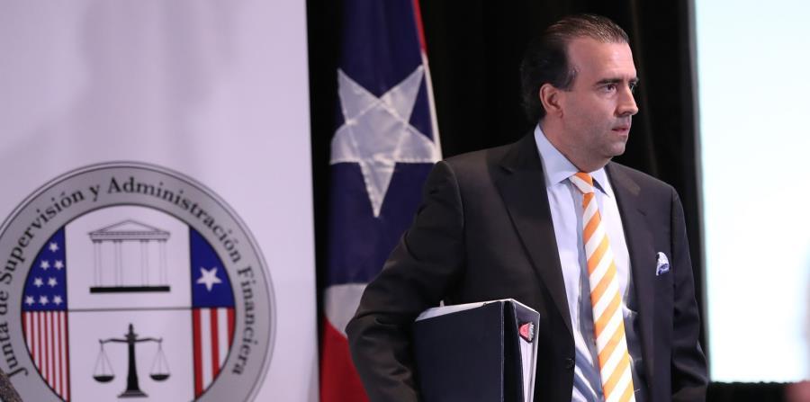 El presidente de la Junta de Supervisión Fiscal, José Carrión (horizontal-x3)