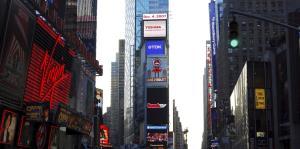 Toshiba retirará su pantalla de Times Square por recortes
