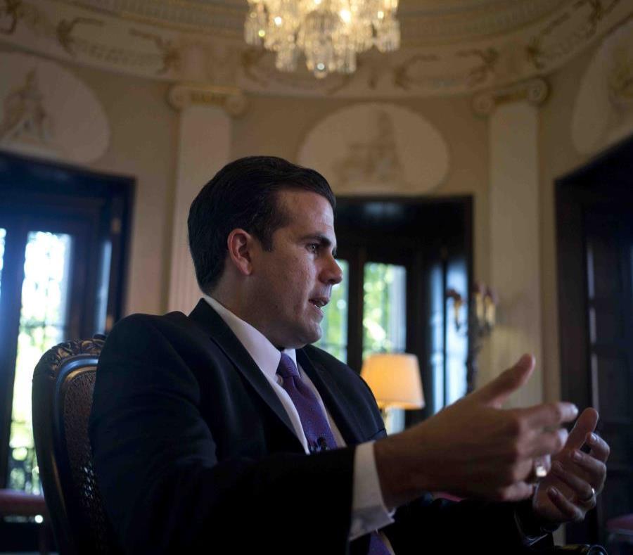 En la foto el gobernador Ricardo Rosselló. (semisquare-x3)