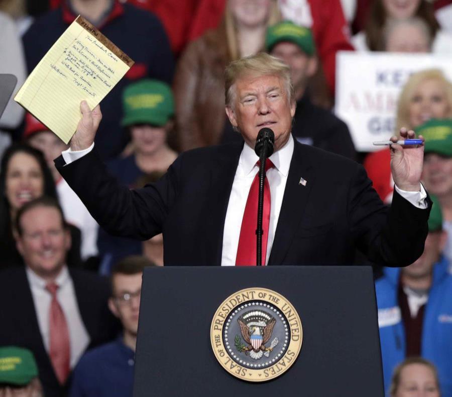 La administración Trump va a referendo en elecciones de medio término