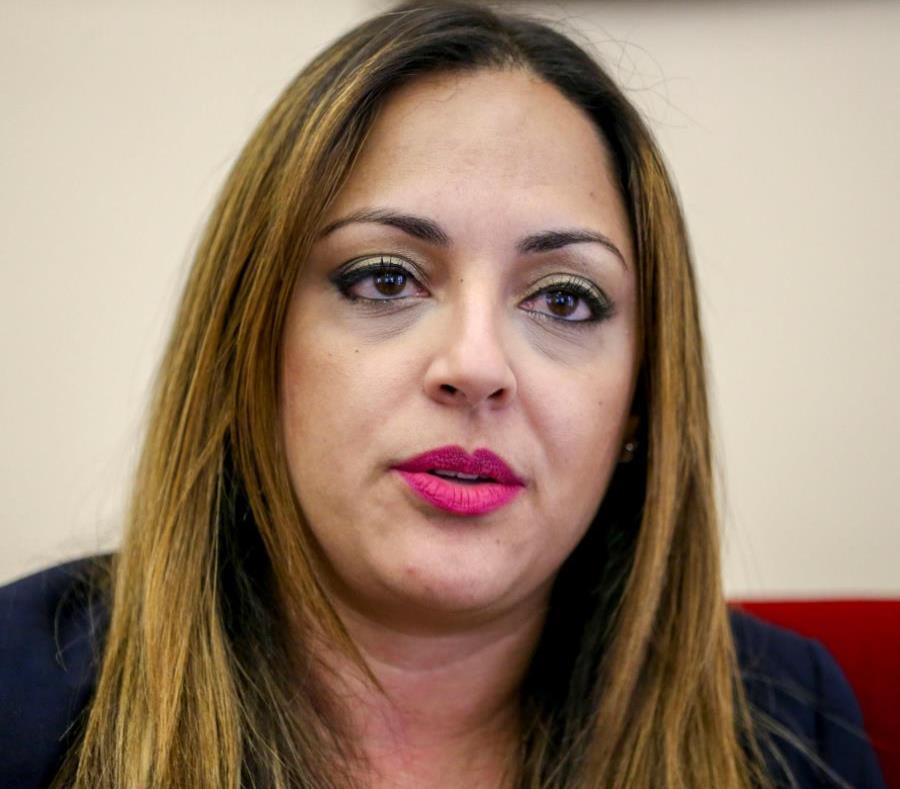 La secretaria de Recursos Naturales y Ambientales, Tania Vázquez (semisquare-x3)