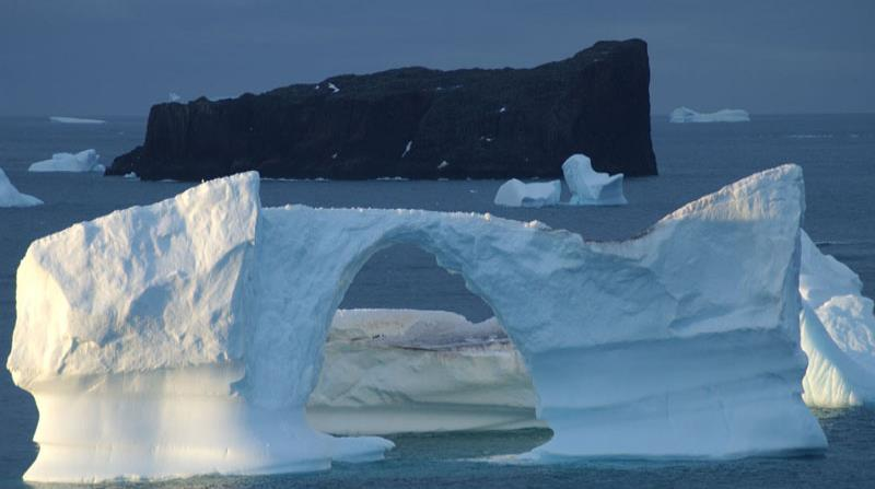 Imagen de un glaciar en la Antártica. (GFR Media) (horizontal-x3)
