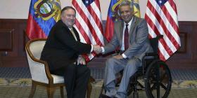 Ecuador y Estados Unidos estrechan iniciativas contra narcotráfico