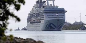Mueren dos personas a bordo del Coral Princess rumbo a puerto de Miami