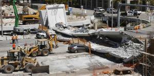 Recuperan el último cuerpo sin vida tras colapso de puente en Floirda