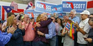 Puerto Rican representatives call to vote for Scott