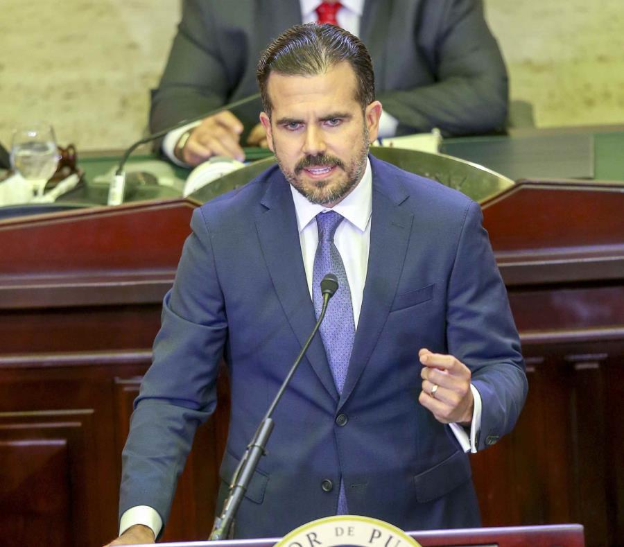 El gobernador Ricardo Rosselló Nevares presentó su nueva Agenda para Puerto Rico. (GFR Media) (semisquare-x3)