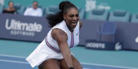 Serena Williams se retira del Abierto de Miami por una lesión de rodilla