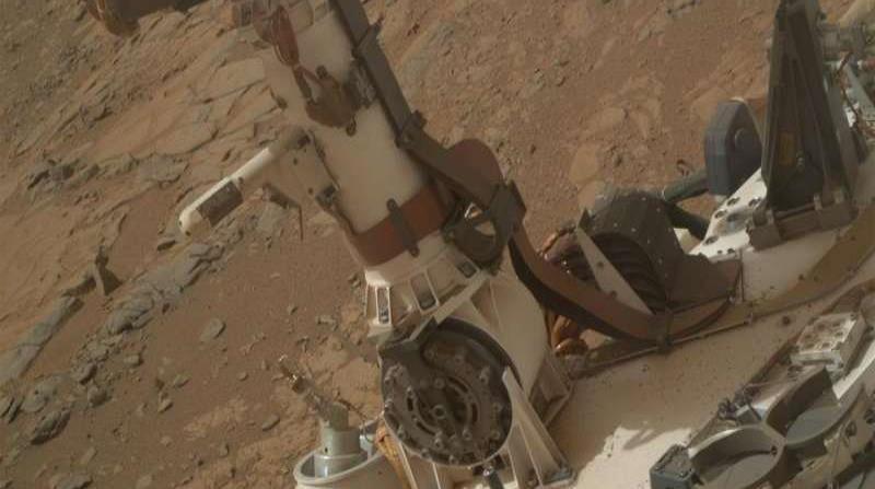 El Curiosity Rover aterrizó en Marte el 5 de agosto de 2012. (Suministrada)