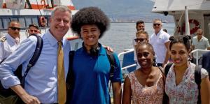 La policía detiene a la hija del alcalde de Nueva York