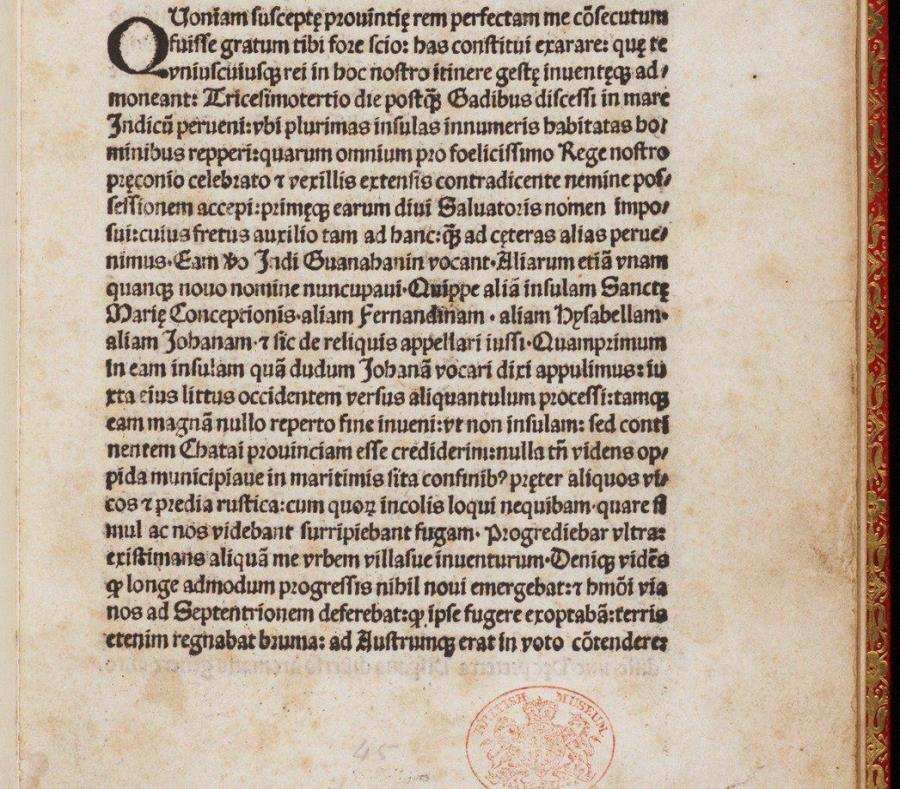 Carta de Cristobal Colón (semisquare-x3)