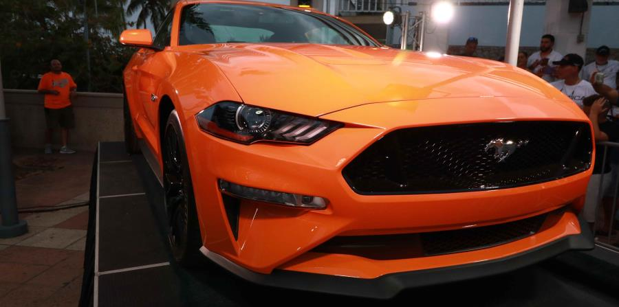 Nuevo Ford Mustang 2018.