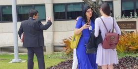 La Fiscalía federal ofrece archivar los cargos contra la maestra acusada de acosar a la jueza Swain