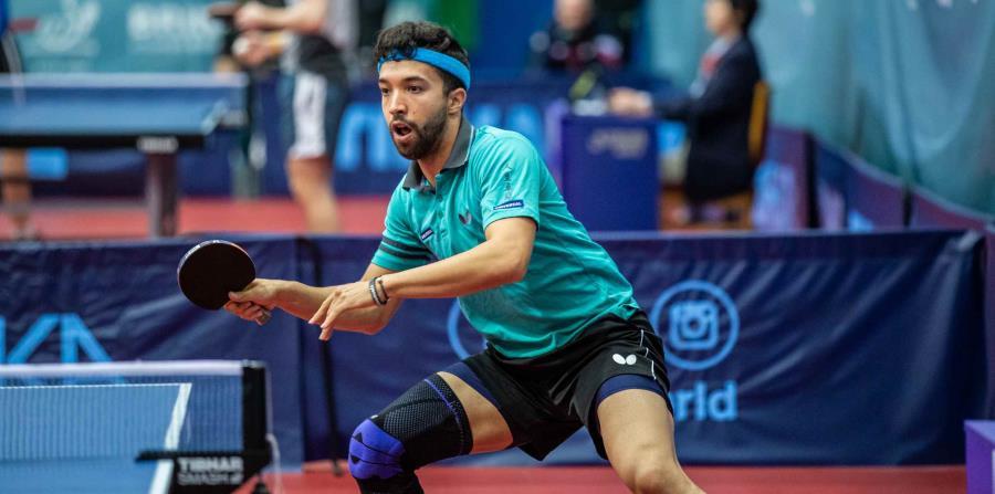 Daniel González venció hoy al austriaco Christian Friederich por marcador de 3-2. (ITTF) (horizontal-x3)