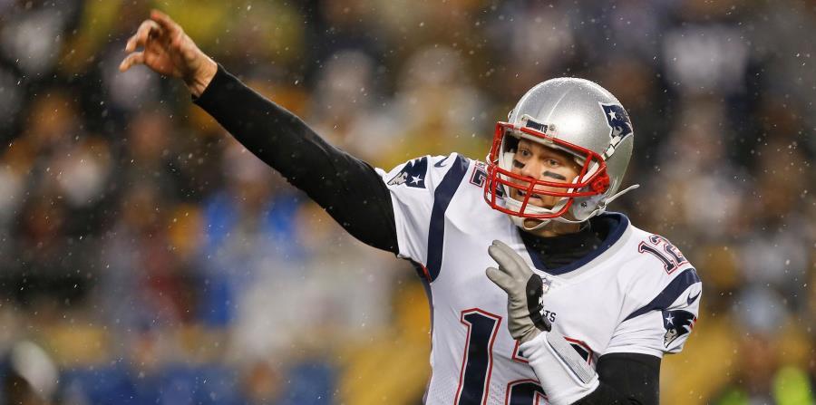 Tom Brady, estelar quarterback de los Patriots, tiene marca de 6-1 ante los Titans. (horizontal-x3)