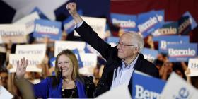 Contundente la victoria de Sanders en Nevada