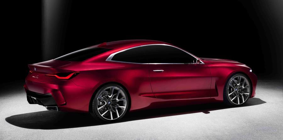 El BMW Concept 4 encarna la esencia estética de la marca BMW. (Suministrada)