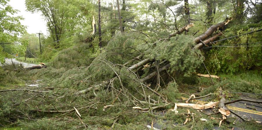 Por las deterioradas condiciones del tiempo, se declaró estado de emergencia para varios condados de la