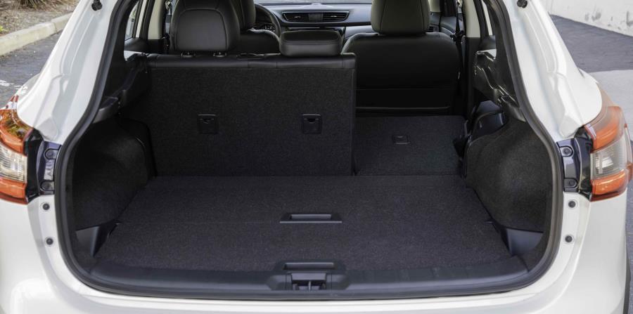 Espacio de carga del nuevo Nissan Rogue Sport. (Suministrada)