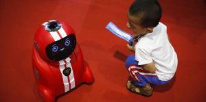 Los robots de compañía toman China