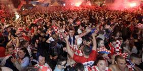 El festejo por el triunfo en el Mundial causó un pequeño sismo en Croacia