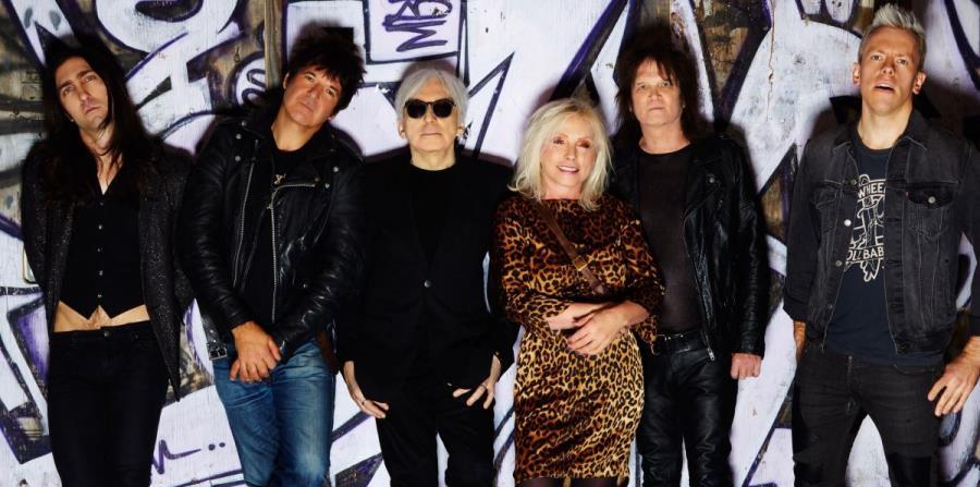 La banda Blondie, liderada por la cantante Debbie Harry. (horizontal-x3)