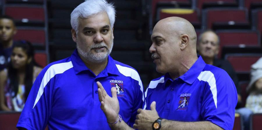 Raymond Cintrón, a la derecha, es el mentor del seleccionado boricua. (GFR Media) (horizontal-x3)