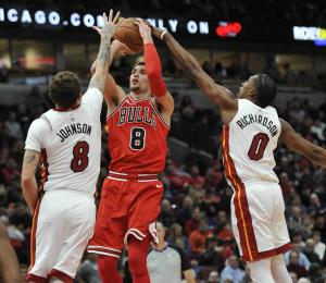 Los Bulls cortan la racha del Heat