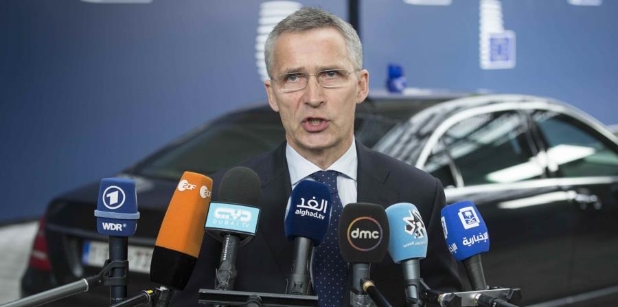 El secretario general de la OTAN, Jens Stoltenberg (horizontal-x3)