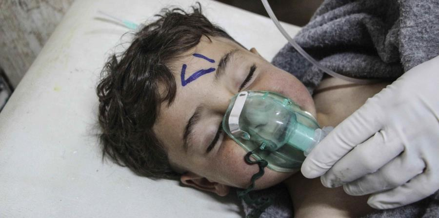 Francia vincula a Damasco con gas sarín usado en el ataque en Siria (horizontal-x3)
