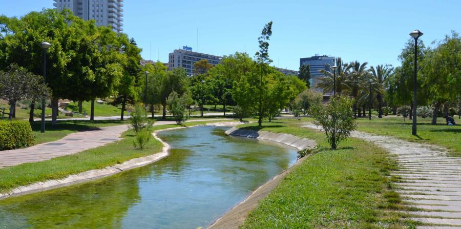 El lado más verde y sano de Valencia atraviesa la ciudad por completo y desemboca en el Puerto. (Suministrada)