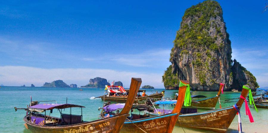 Playa Phra Nang, Krabi, Tailandia. (Unsplash)