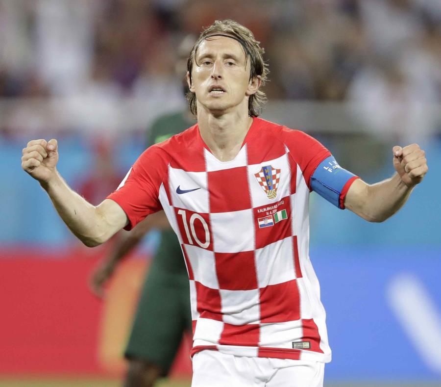 Luka Modric y Croacia vistieron los colores principales el pasado 16 de junio. (AP) (semisquare-x3)