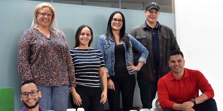 Los seis educadores participaron del Microsoft Education Exchange que se celebró en marzo, en Singapur (horizontal-x3)