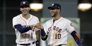 Carlos Correa impulsa tres carreras en la paliza de los Astros