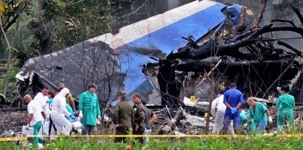 Solo queda una extranjera por identificar del avión accidentado en Cuba