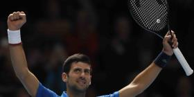 Djokovic debuta con un triunfo en las Finales ATP