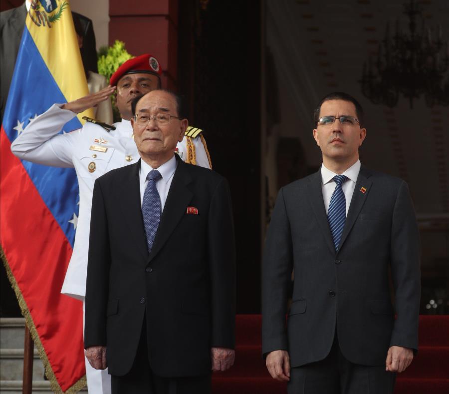 Venezuela y Corea del Norte firman acuerdos de cooperación (semisquare-x3)
