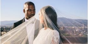 Kim Kardashian publica fotos nunca antes vistas de su boda con Kanye West