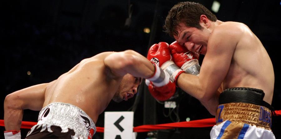 Con el triunfo sobre Yoshihiro Kamegai el pasado sábado en Carson, California, Miguel Cotto se coronó campeón 154 libras OMB. (horizontal-x3)
